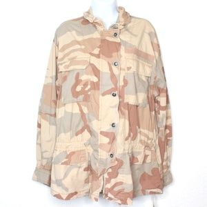 Free People Lead The Way Taupe Combo Camo …